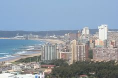 Durban, the beach front Places Ive Been, Places To Go, Durban South Africa, World Cruise, Travel Checklist, Live, Hibiscus, South America, San Francisco Skyline