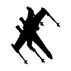 Star Wars Xwing Die Cut Vinyl Decal PV1333