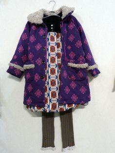 fantastic mix of pattern and colour / Japanese label Whip Cream