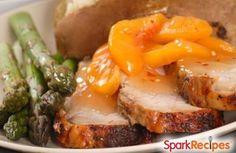 Pork Chops  Peaches in the Crock Pot Recipe by LITTLESPARKLER