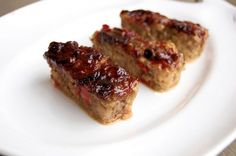 Mini Asian Meatloaves. Perfect for mini appetizers at a party