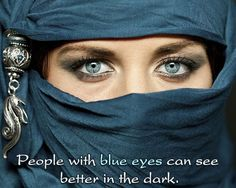 Fact about blue eyes