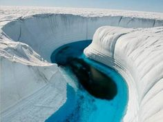 Ice Canyon, Greenland - Antartida