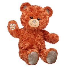 Orange Teddy Bear | Shop Pumpkin Spice Bear Online at Build-A-Bear® Teddy Bear Shop, Teddy Bear Gifts, Teddy Bears, Build A Bear Online, Pet Gifts, Baby Gifts, Giant Stuffed Animals, Blue Gift, Baby Gift Sets