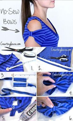 DIY No Sew Bows Pictures, Photos, and Images for Facebook, Tumblr, Pinterest, and Twitter