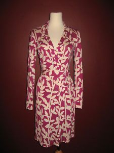 DVF New Jeanne Brambles Wrap Dress
