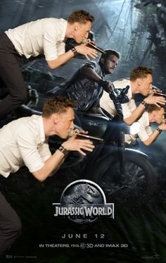 The New Breed of Raptors The Hiddles Jurassic World thegirlofflame