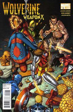 Wolverine: Weapon X # 15 by Ron Garney