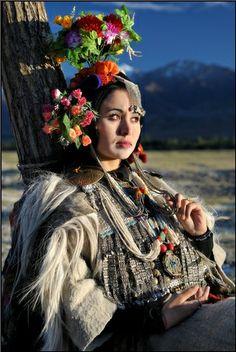 Dropka girl, Tibet