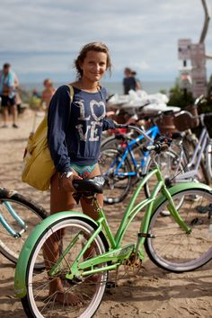 This would be a great outfit to wear to the beach in the fall, or to take a little bikeride around Carmel.  It is pretty hilly though, so maybe I would just pose for pictures with the bike....
