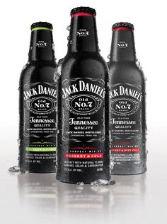 Pre-mixed Jack Daniel's drinks in a bottle... Why have I never seen these before?!