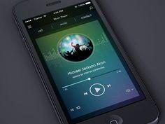 Music Player Animation