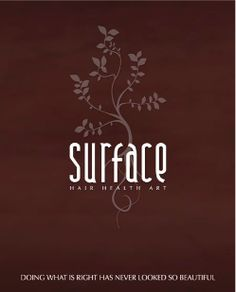 Surface Hair Products. The best!  Try it