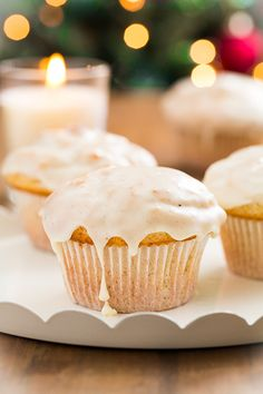 Eggnog Doughnut Muffins | Cooking Classy - Perfect for Christmas breakfast!