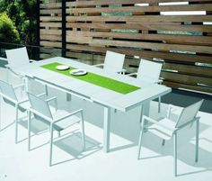 """5. Bianco Dining Set (2 EXTRA CHAIRS) - 8 chairs  Qty 1: UnextendedDining Table = W 39"""" x D 70"""" x H 30"""" Extended Dining Table = W 39"""" x D 94.5"""" x H 30"""" Qty 6: Dining Chair = W 24.5"""" x D 24"""" x H 17""""  SKU: MB-711131 $1999"""