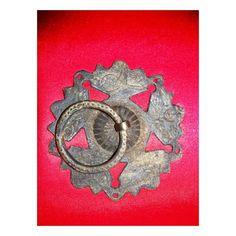 Ottoman doorknob & osmanlı kapı tokmağı Door Knobs And Knockers, Knobs And Handles, Door Gate, Door Hinges, Vintage Door Decor, Baroque, Celtic, Gate Hardware, Doorbells