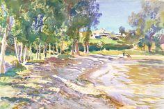 John Singer Sargent 'San Vigilio, Lago di Garda', c.1913