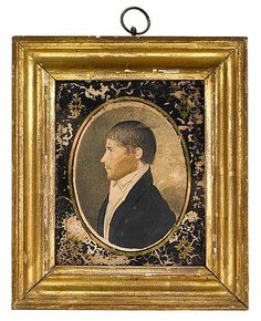 Attributed to William Birch (1755-1834), miniature - by Freeman's