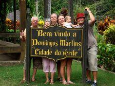 Em visita ao Espírito Santo, terra do meu amigo Ricardo Pinto, ex-goleiro do Clube Atlético Paranaense.