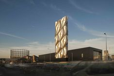 Gallery of Greenwich Peninsula Low Carbon Energy Centre / C.F. Møller Architects - 1