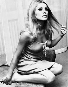 Sharon Tate was murdered by the Helter Skelter group led by Charles Manson in California. They also murdered the heiress to one of the coffee companys. SHe was 8 .5 months pregnant when her baby was cut from her body. (I cannot even imagine her last thoughts.) (JTL)