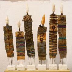 Morley Textiles 20 #morleycollege #textilefoundation #jonathandredge African Crafts, Feature Wallpaper, Textiles, Textile Fiber Art, Unusual Art, Totems, Art Object, Creative Inspiration, Metal Art
