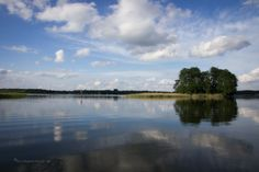 Perfect views on the lakes in Brandenburg.