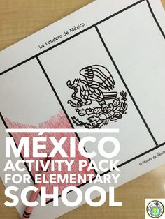 Introduce your elementary Spanish students to México with our printable minibook & activity pack! Mundo de Pepita, Resources for Teaching Spanish to Children