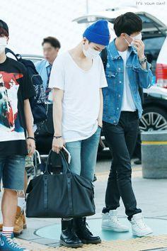 150615 Incheon Airport - SUGA