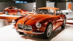 Zagato rarities on display at Italian auto museum to mark 95th anniversary