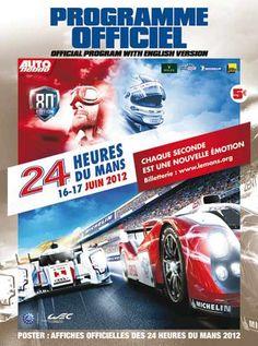 Programme Cover - Le Mans 24 Hours 2012