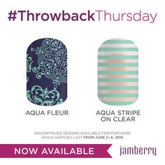 Throwback Thursday ends TONIGHT! https://annamorris.jamberry.com/us/en/shop/shop/for/nail-wraps?collection=collection%3A%2F%2F1114