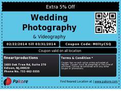Extra 5% Off  Wedding Photography