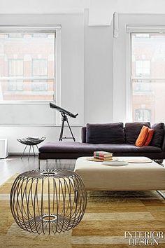 Pull Up a Chair: Openhousenewyork | Arjun Desai and Katherine Chia's three-bedroom apartment in the Flatiron District. #design #interiordesign #interiordesignmagazine #architecture #furniture #decor #apartment