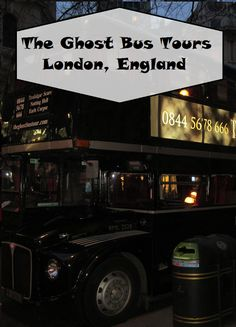 Wanderlust Vegans: Ghost Bus Tours of London