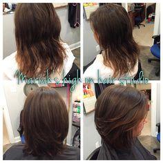 Haircut for fullness!