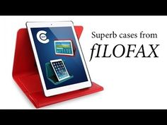 Beautiful tablet cases from Filofax