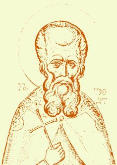 St. Theodotus of Ancyra: This Martyr contested in Ancyra during the reign of Diocletian (284-305), when Theotecnus was Proconsul. After the martyrdom of the virgin Tecusa and her seven companions (the virgins Alexandria, Claudia, Phaeina, Euphrasia, Matrona, Julia, and Theodota; they are celebrated on May 18), Saint Theodotus recovered their holy relics and buried them. For this, he was seized by Theotecnus, tormented, and beheaded