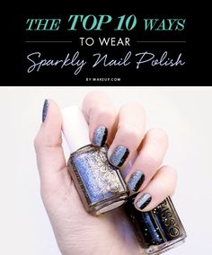 Looking for a festive holiday manicure for all the parties you have coming up? We pulled together 10 fun ways to wear glitter this season! The best part about this nail art? It's all DIY! Here's how to get these festive manis.