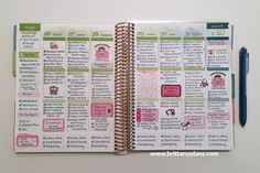 Erin Condren Life Planner Weekly Spread - December 26 to January 1