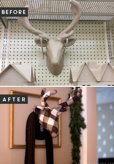 Add a touch of whimsy to your rustic decor with this DIY fabric animal wall sculpture. Not only is it easy to make, but it can easily be customized! MountainModernLife.com