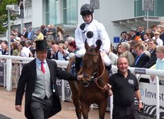 New Forest at Epsom on Derby Day 2014.