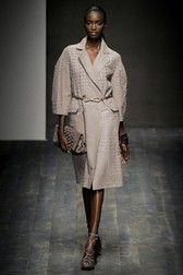 See all the Collection photos from Salvatore Ferragamo Spring/Summer 2010 Ready-To-Wear now on British Vogue Heritage Brands, Fashion Show, Fashion Design, Couture, Salvatore Ferragamo, Tweed, Ready To Wear, Cashmere, Vogue