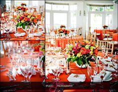 A wedding reception at the Hyatt Key West