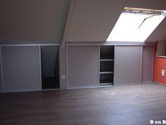 Zolderkast Dressing, Small Bathroom, Kids Room, Sweet Home, Bedroom, Entertainment, Furniture, Home Decor, Loft Bedrooms