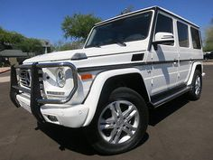 2015 Mercedes-Benz G-Class Navigation Heated/Cooled Seats Blind Spot Assist G wagon white 2016 2014 White G Wagon, Mercedes Benz G Class, Most Visited, Blind, Cashier's Check, Dream Cars, Money Order, Motors, Base