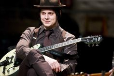 36  year old (b. July 9, 1975), nine time Grammy Award winner, Jack White. Guitar legend and a down-right genius of a musician.
