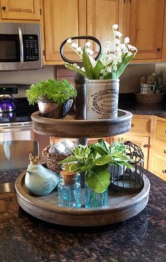 Super home decored ideas for cheap apartments kitchens easy diy ideas Kitchen Sink Design, Kitchen Island Decor, Rustic Crafts, Rustic Decor, Farmhouse Decor, Homemade Gift Boxes, Kitchen Organisation, Organization, Home Styles Exterior