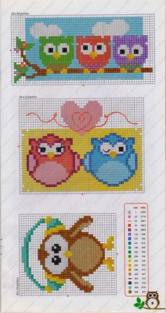 Thrilling Designing Your Own Cross Stitch Embroidery Patterns Ideas. Exhilarating Designing Your Own Cross Stitch Embroidery Patterns Ideas. Cross Stitch Owl, Cross Stitch For Kids, Cross Stitch Borders, Cross Stitch Animals, Cross Stitch Designs, Cross Stitch Kitchen, Cross Stitching, Cross Stitch Embroidery, Cross Stitch Patterns