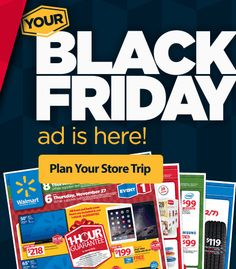 The Walmart Black Friday 2014 Ad Has Been Released! Check it Out Now! - Raking In the Savings Walmart Black Friday Deals, Black Friday Ads, Walmart Deals, Check It Out, How To Plan